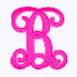 "Letter ""B""  Pink Monogram by Simply Southern"