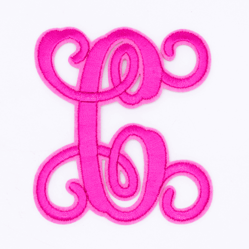 "Letter ""C""  Pink Monogram by Simply Southern"