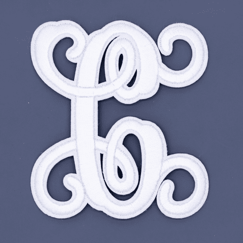 """Letter """"C""""  White Monogram by Simply Southern"""