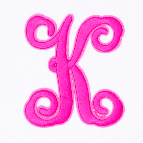 """Letter """"K""""  Pink Monogram by Simply Southern"""