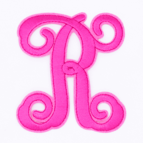 """Letter """"R""""  Pink Monogram by Simply Southern"""