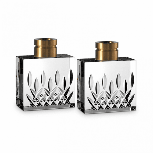 Lismore Candlestick Pair by Waterford