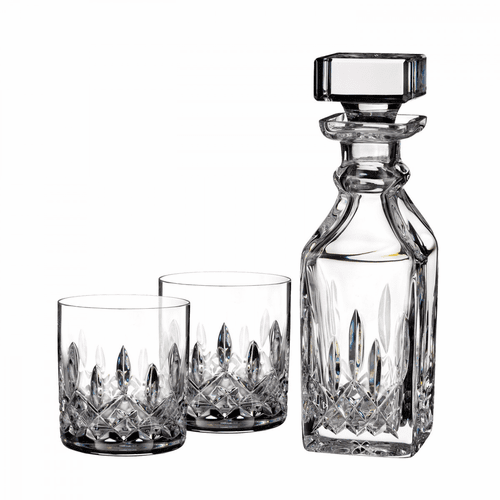 Lismore Connoisseur Square Decanter & Tumbler Pair by Waterford