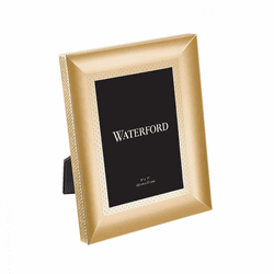 "Lismore Diamond Gold 5x7"" Frame by Waterford"