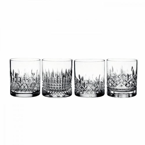 Lismore Evolution Double Old Fashioned Set of 4 by Waterford