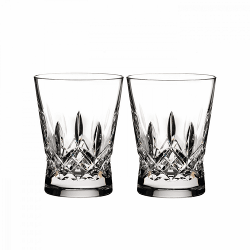Lismore Pops Clear Double Old Fashioned Pair by Waterford