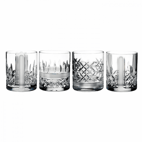 Lismore Revolution Double Old Fashioned Set of 4 by Waterford