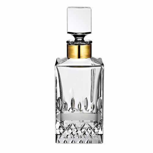 Lismore Revolution Square Decanter by Waterford