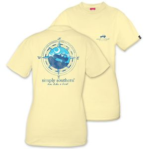 Live Like a Local Mountain Unisex Short Sleeve Tee by Simply Southern