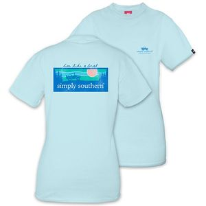 Live Like a Local Outdoor Logo Unisex Short Sleeve Tee by Simply Southern
