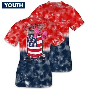 Live Simply Free YOUTH Short Sleeve Tee by Simply Southern
