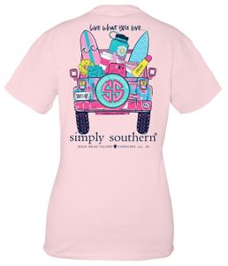 Live What You Love Lulu Short Sleeve Tee by Simply Southern