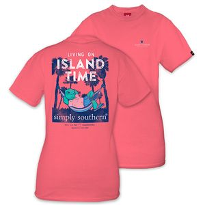 Living on Island Time Unisex Short Sleeve Tee by Simply Southern