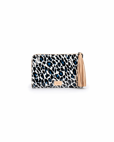 Lola L-Shaped Clutch by Consuela