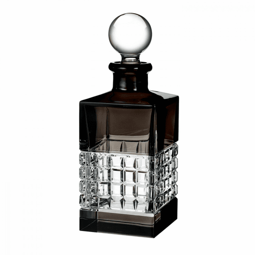 London Smoke Square Decanter by Waterford