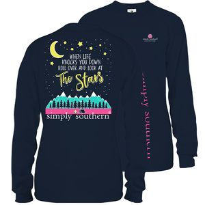 Look at the Stars Midnight Long Sleeve Tee by Simply Southern