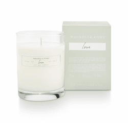 Love Boxed Glass Candle  - Magnolia Home by Joanna Gaines