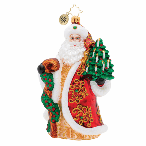 Magnificent Santa Ornament by Christopher Radko