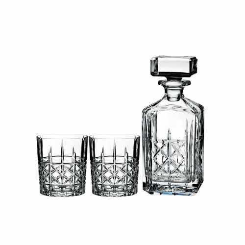 Marquis Brady Decanter & Double Old Fashioned Pair by Waterford