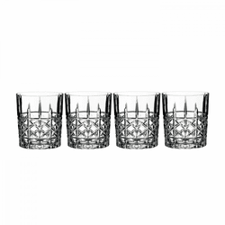 Marquis Brady Double Old Fashioned Set of 4 by Waterford