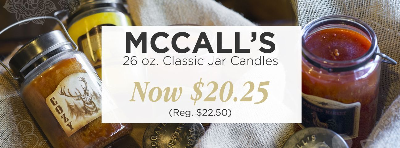 26 oz. McCall's Classic Jar Candles