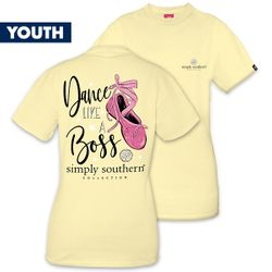 Medium Dance Like a Boss YOUTH Short Sleeve Tee by Simply Southern