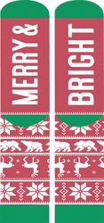 Merry Nonslip Holiday Socks by Simply Southern