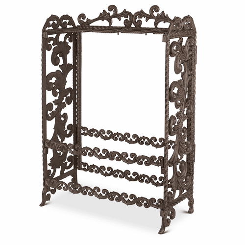 Metal Acanthus Leaf Wine Rack - GG-Collection