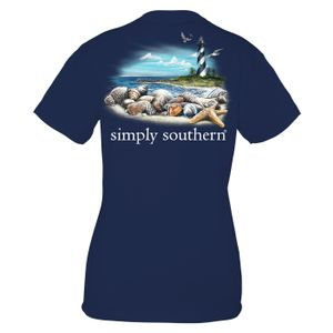 Midnight Lighthouse Unisex Short Sleeve Tee by Simply Southern