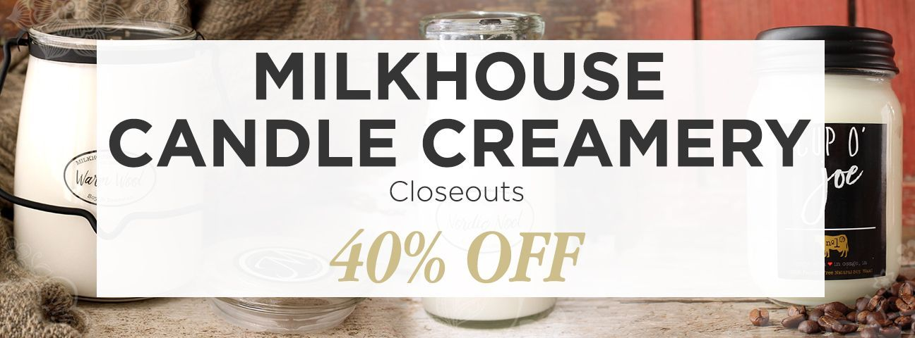 Closeouts by Milkhouse Candle Creamery