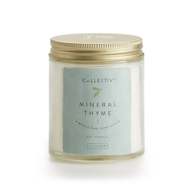 Mineral Thyme Julia Jar by Illume Candle