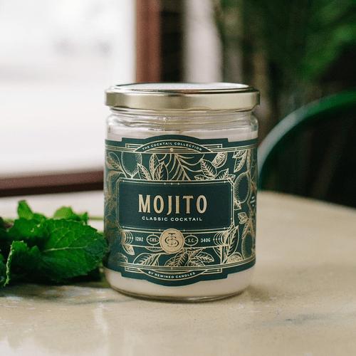 Mojito Cocktail 12 oz. Rewined Candle