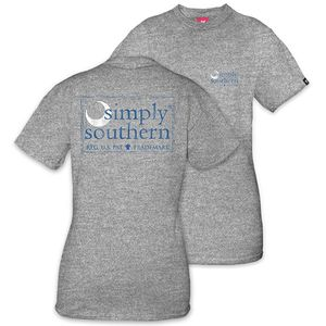 Moon Gray Unisex Short Sleeve Tee by Simply Southern