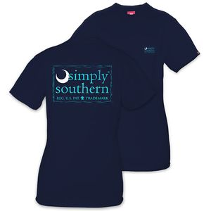 Moon Midnight Unisex Short Sleeve Tee by Simply Southern