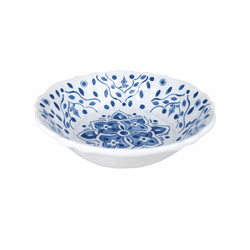 Moroccan Blue Cereal Bowl by Le Cadeaux