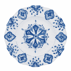 Moroccan Blue Dinner Plate by Le Cadeaux