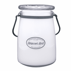 Moroccan Mint 22 oz. Butter Jar Candle by Milkhouse Candle Creamery