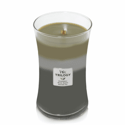 Mountain Trail WoodWick Trilogy Candle 22 oz.