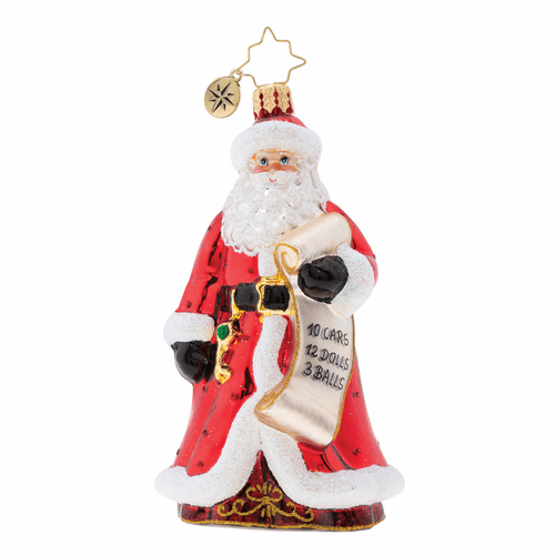 Naughty or Nice? Ornament by Christopher Radko