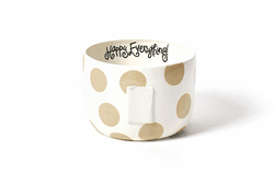 Neutral Dot Big Bowl by Happy Everything!