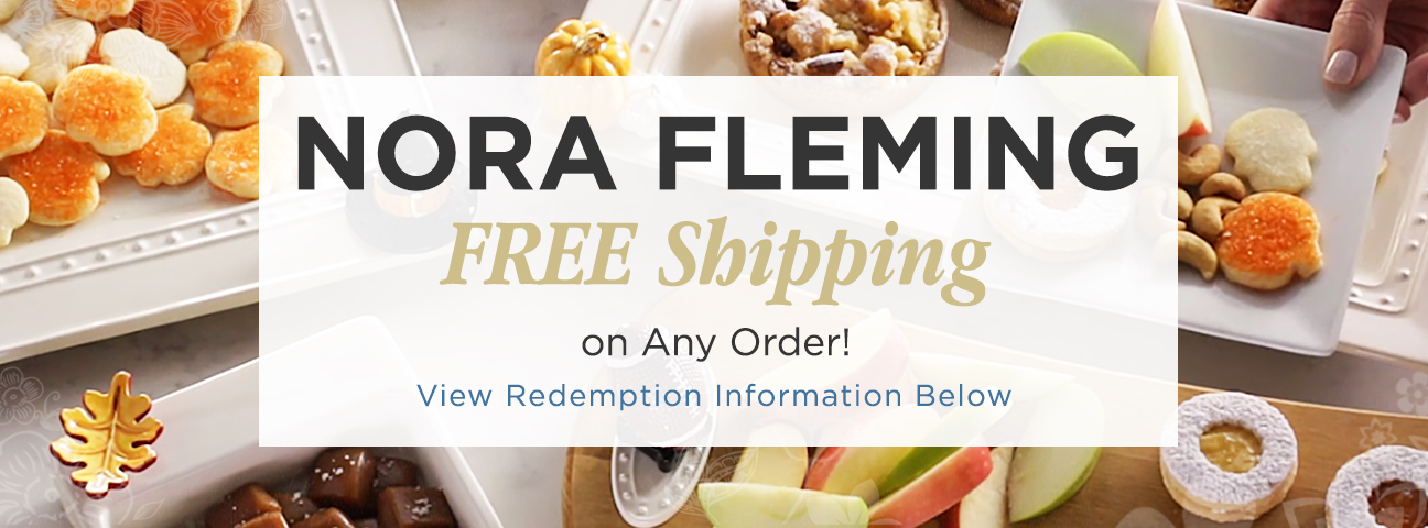 Platters & Decor Pieces by Nora Fleming