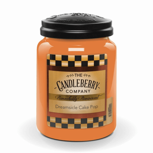 Dreamsicle Cake Pop 26 oz. Large Jar Candleberry Candle