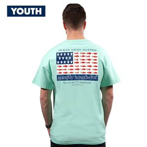 Ocean Lives Matter YOUTH Unisex Short Sleeve Tee by Simply Southern