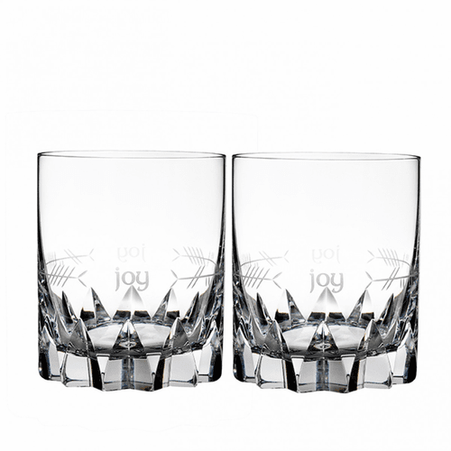 Ogham Joy Double Old Fashioned Pair by Waterford