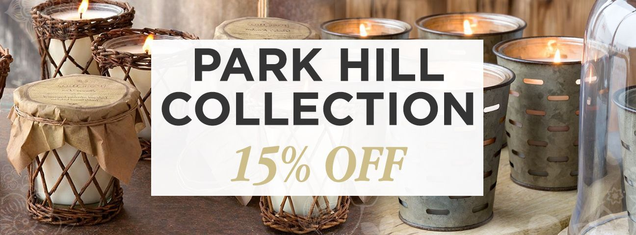 Olive Bucket Candles by Park Hill Collection