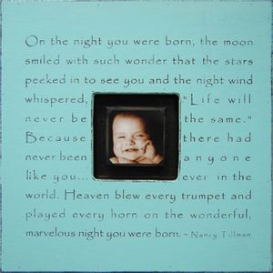 On The Night You Were Born Photobox Collection by Sugarboo Designs