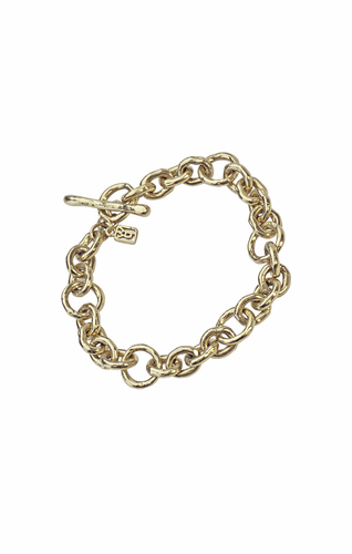 Ostra (Brass) Bracelet - Small by Waxing Poetic