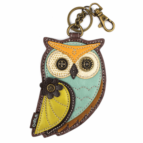 Owl-A Key Fob and Coin Purse by Chala