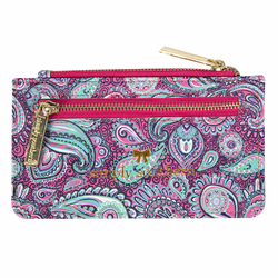 Paisley Leather ID Wallet by Simply Southern