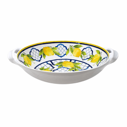 "Palermo 13"" Large Two-Handled Bowl by Le Cadeaux"